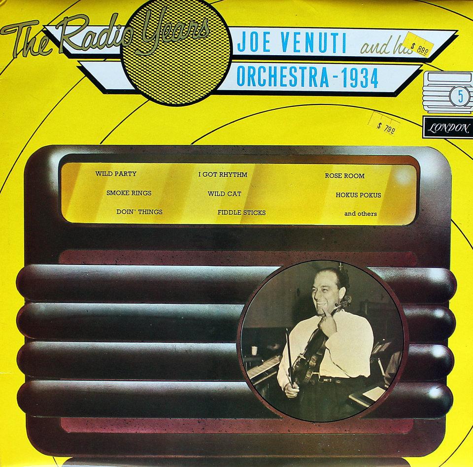 "Joe Venuti And His Orchestra Vinyl 12"" (Used)"