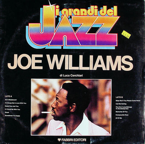 "Joe Williams Vinyl 12"" (Used)"