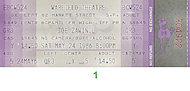 Joe Zawinul Vintage Ticket