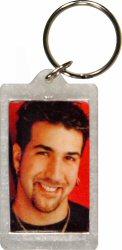 Joey Fatone Keychain reverse side