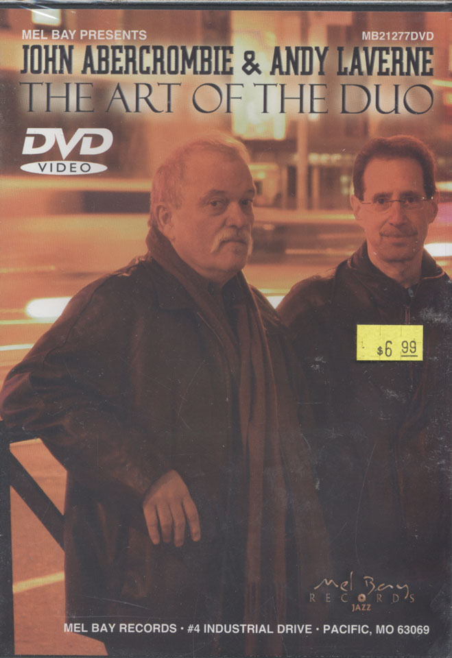 John Abercrombie & Andy Laverne DVD