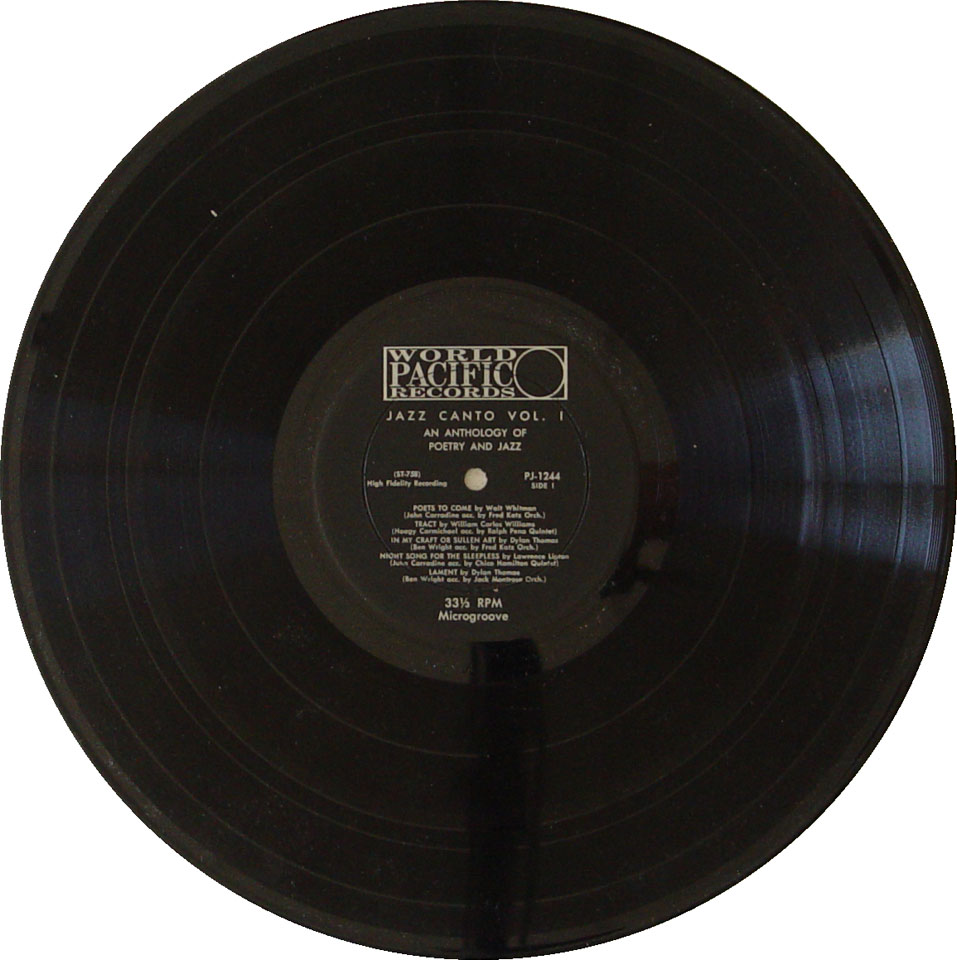 "John Carradine Vinyl 12"" (Used)"