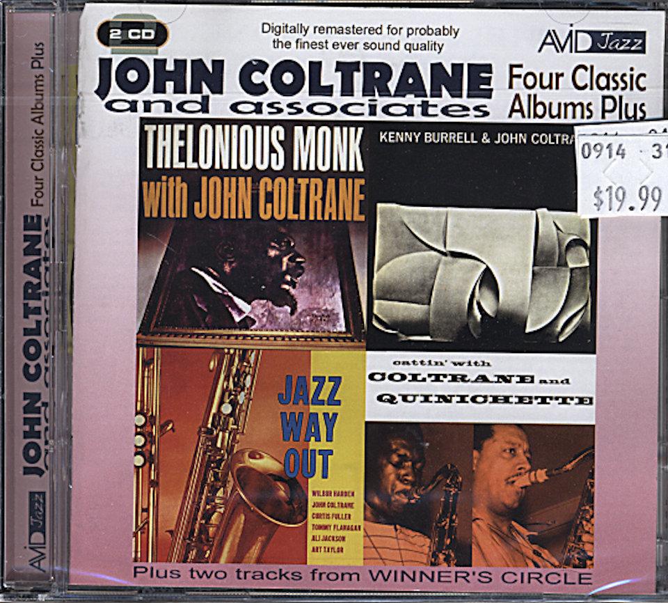 John Coltrane and Associates CD