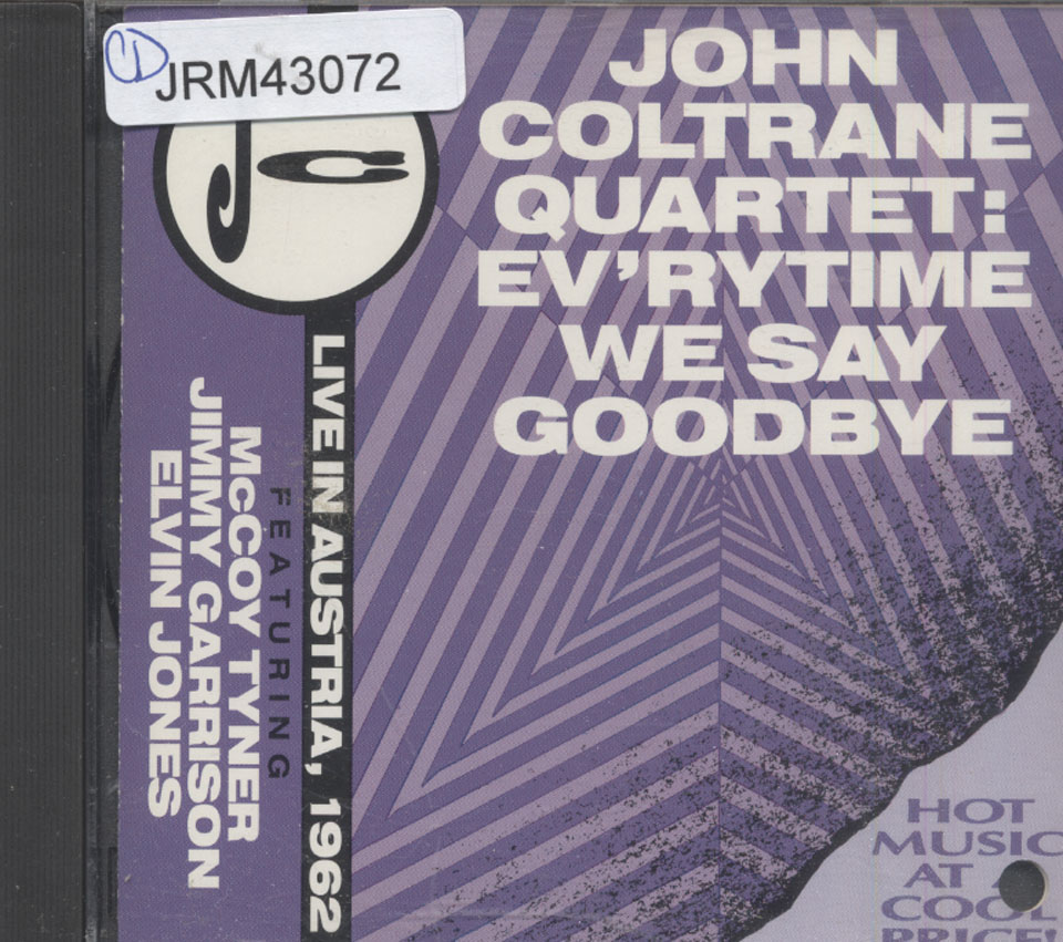 John Coltrane Quartet CD