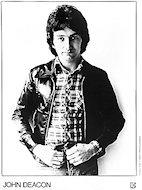 John Deacon Promo Print