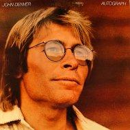 "John Denver Autograph Vinyl 12"" (Used)"
