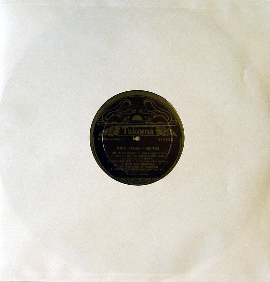 """John Fahey Vinyl 12"""" (Used)"""