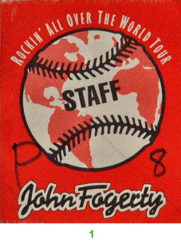 John Fogerty Backstage Pass