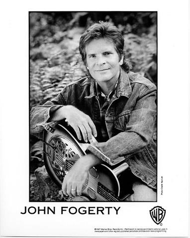 John Fogerty Promo Print