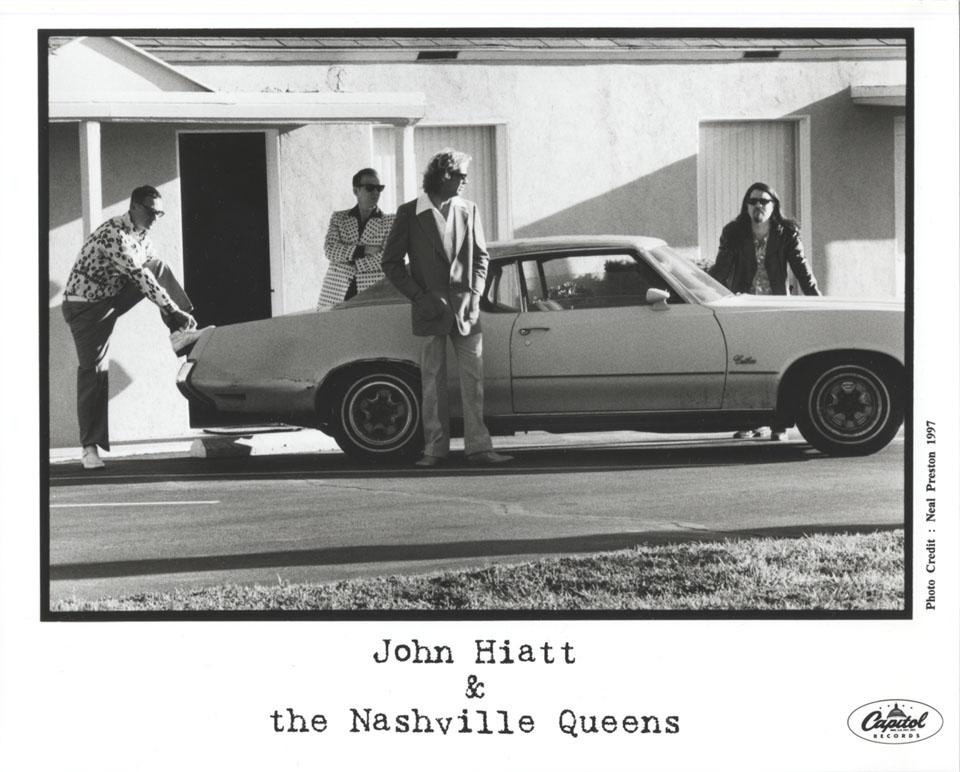John Hiatt & the Nashville Queens Promo Print, 1997 at ...