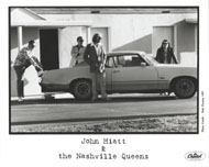 John Hiatt & the Nashville Queens Promo Print