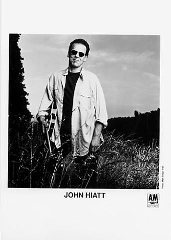 John Hiatt Vintage Concert Promo Print, 1993 at Wolfgang's