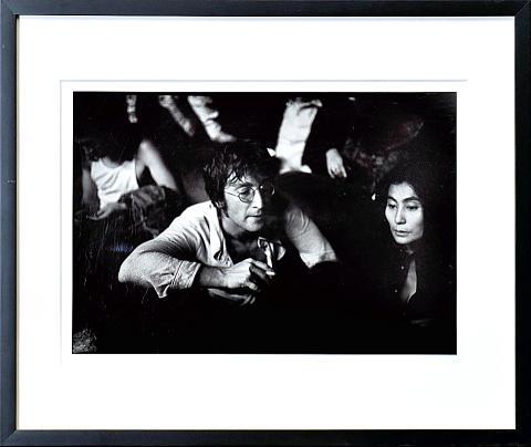 John Lennon Framed Fine Art Print