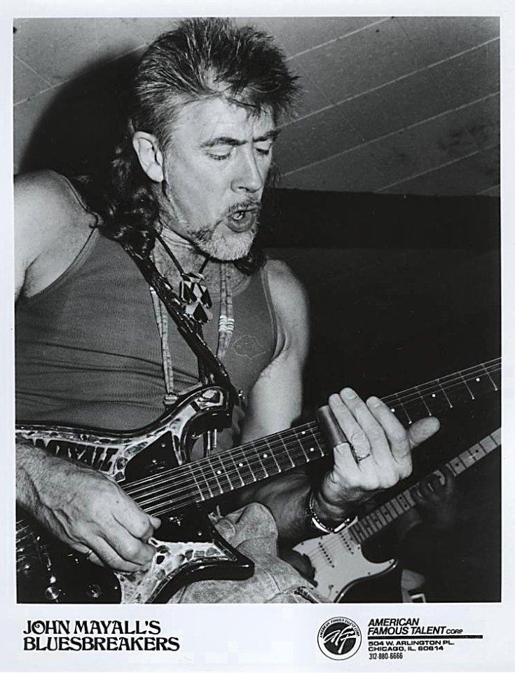 John Mayall & the Bluesbreakers Promo Print