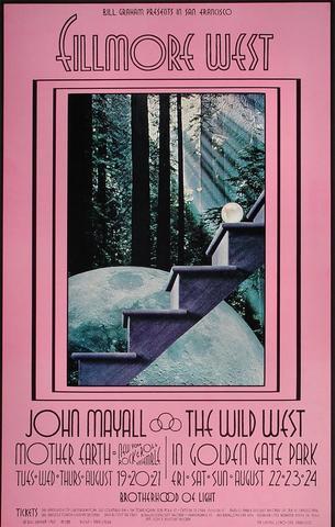 John Mayall Handbill