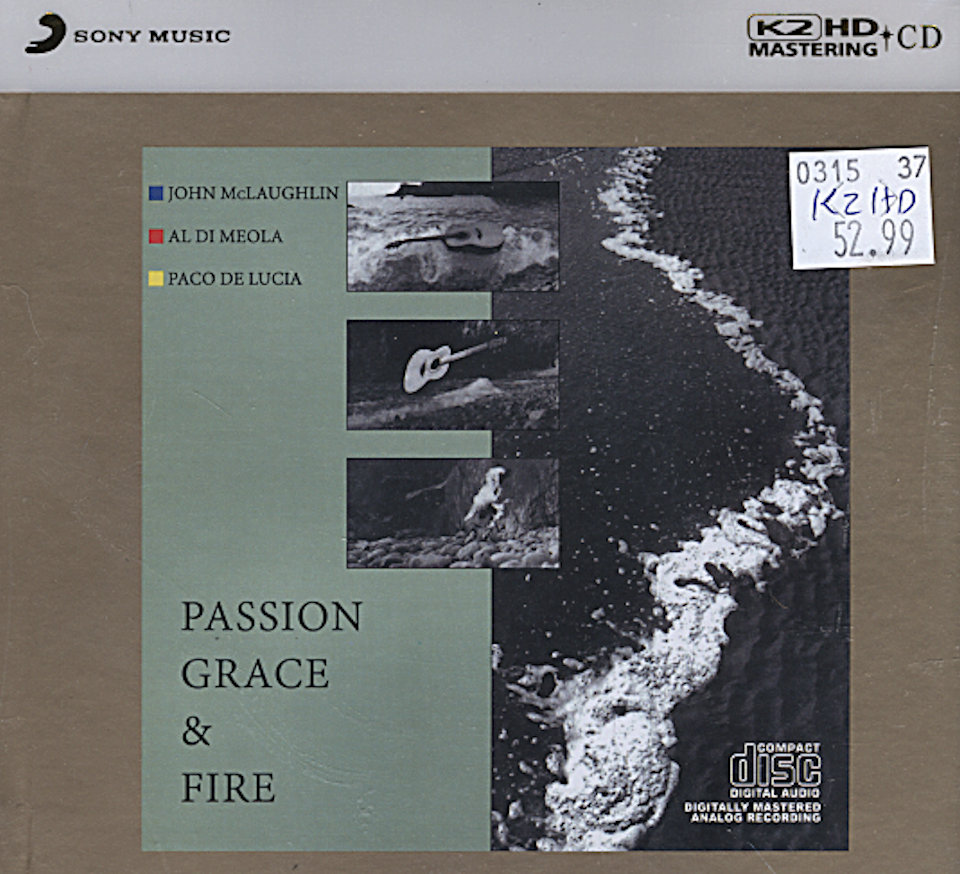 John McLaughlin / Al Di Meola / Paco De Lucia CD