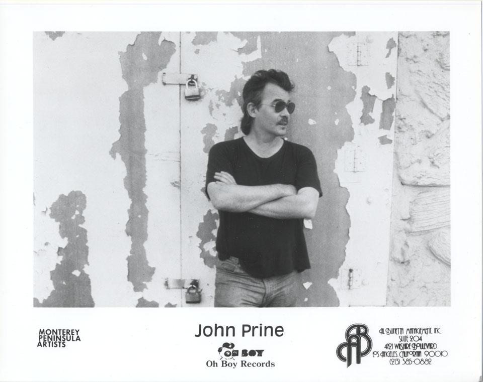 John Prine Promo Print