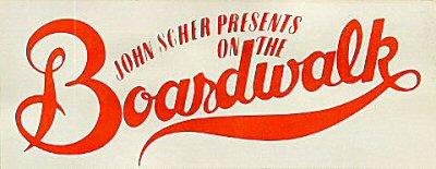 John Scher Presents On the Boardwalk Sticker