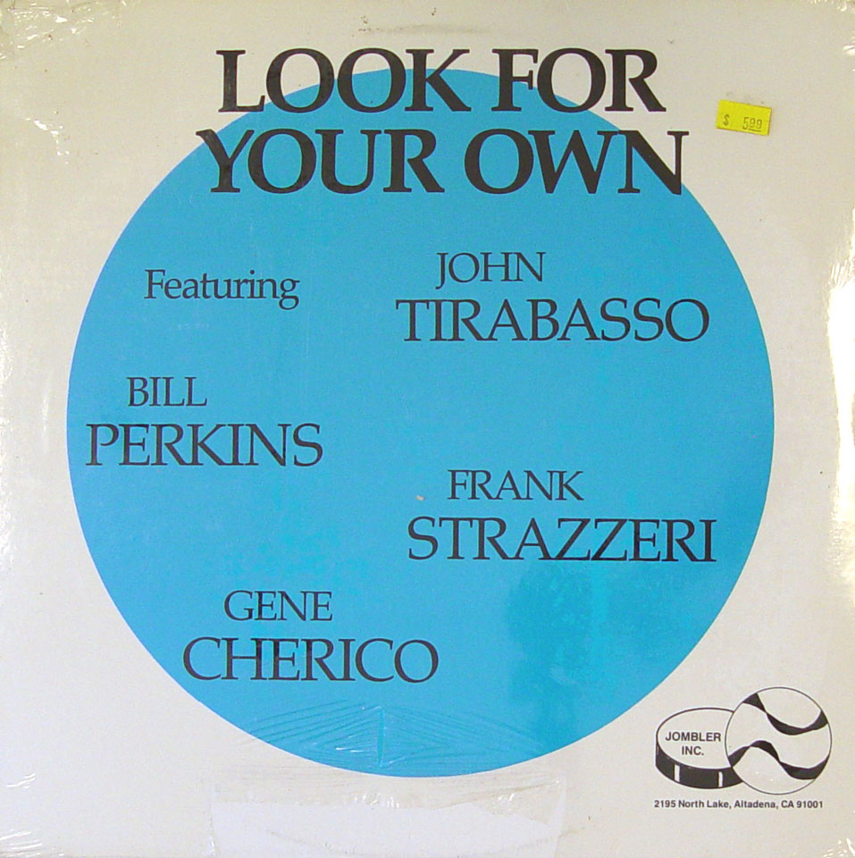 "John Tirabasso / Bill Perkins / Frank Strazzeri / Gene Cherico Vinyl 12"" (New)"