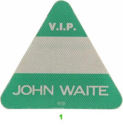 John Waite Backstage Pass