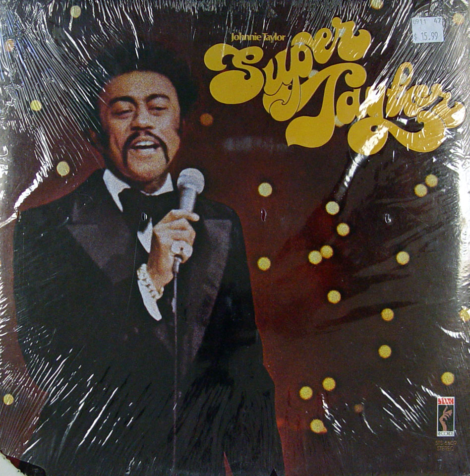"Johnnie Taylor Vinyl 12"" (New)"