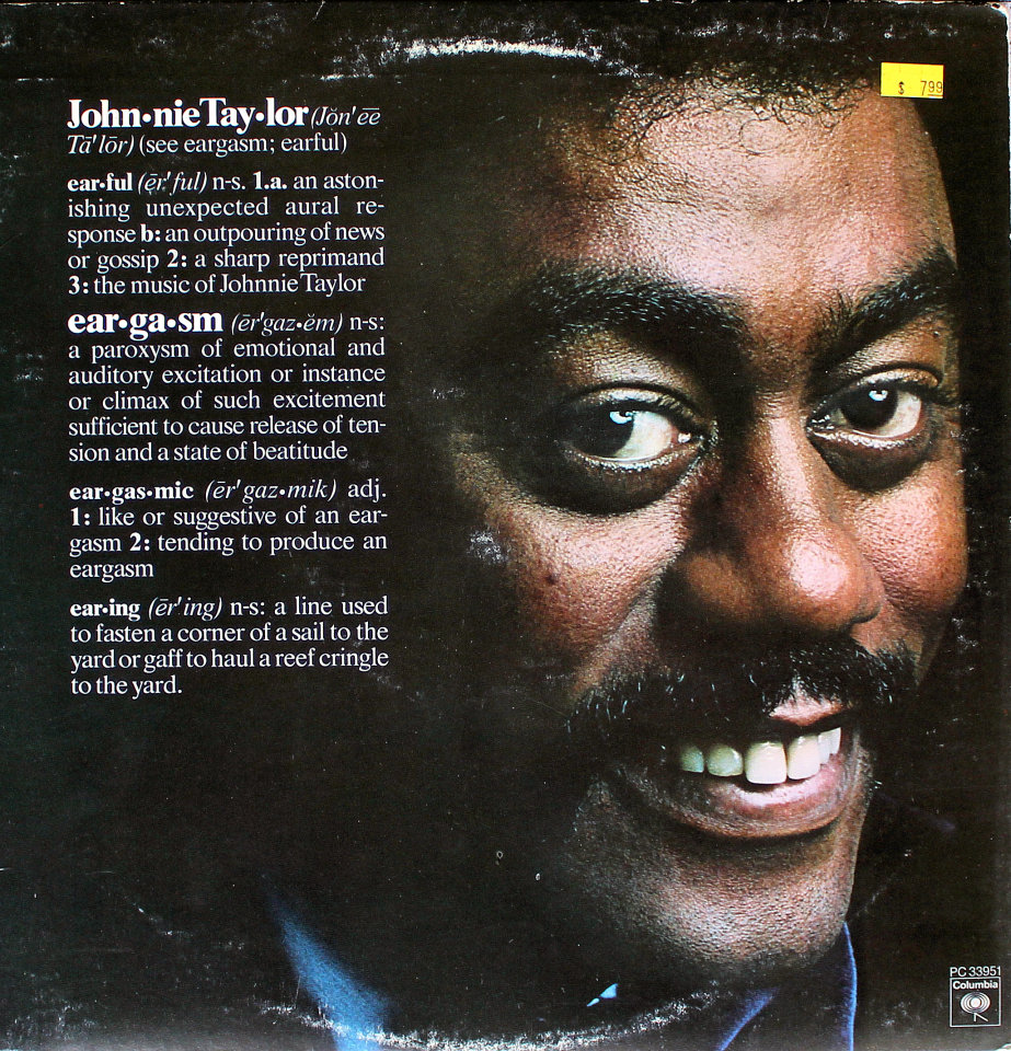 "Johnnie Taylor Vinyl 12"" (Used)"