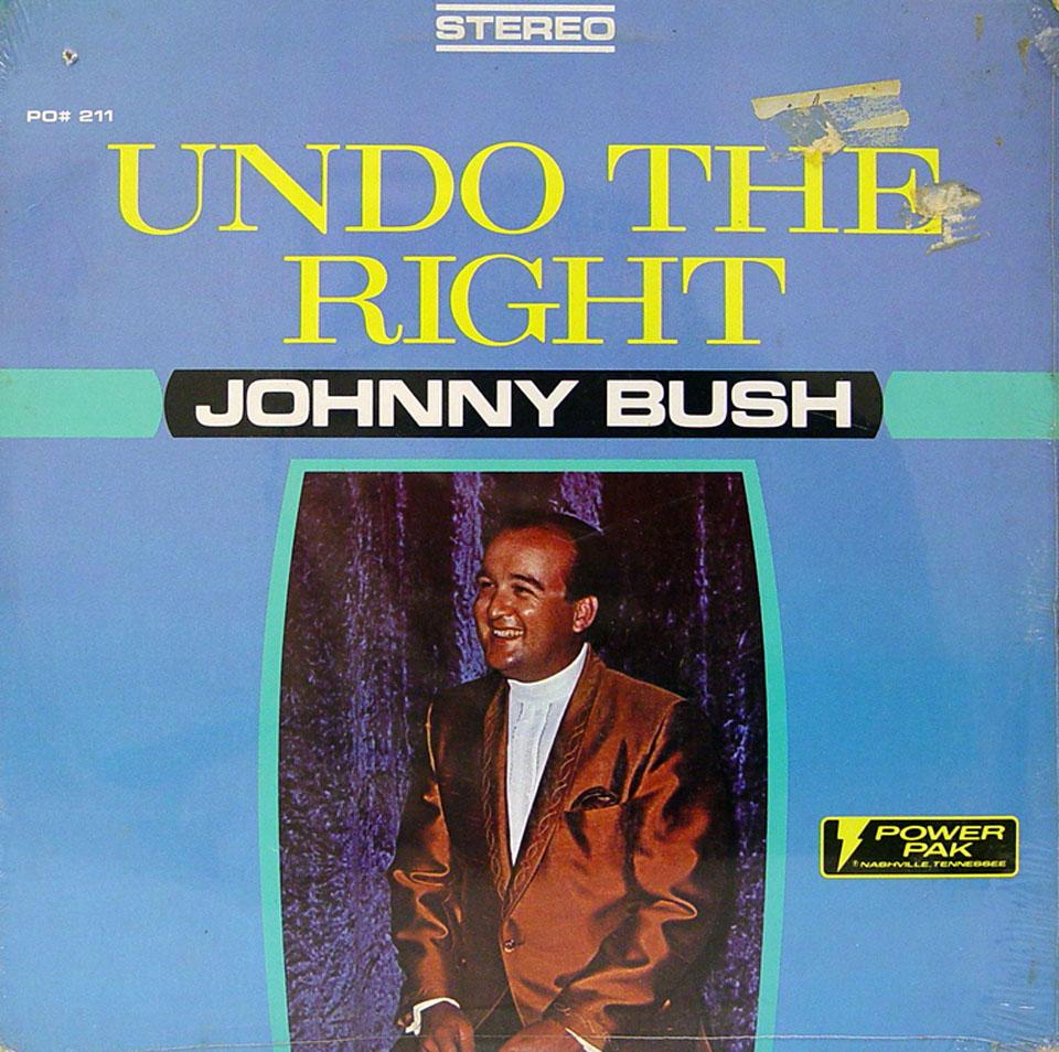 """Johnny Bush Vinyl 12"""" (New)"""