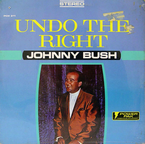 "Johnny Bush Vinyl 12"" (New)"