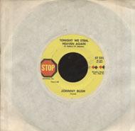"""Johnny Bush Vinyl 7"""" (Used)"""