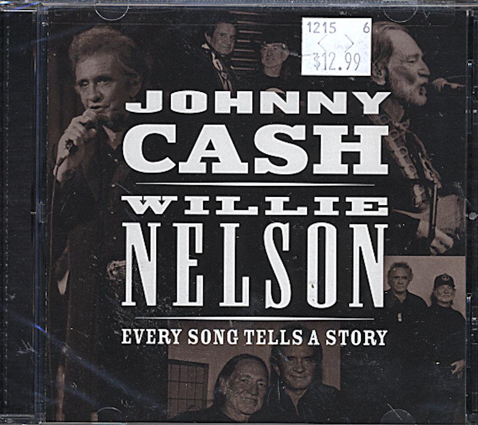 Johnny Cash / Willie Nelson CD