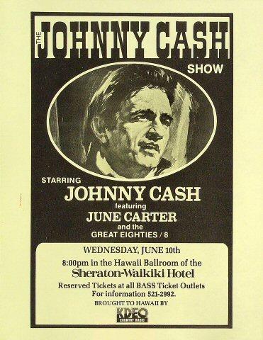 Johnny Cash Handbill