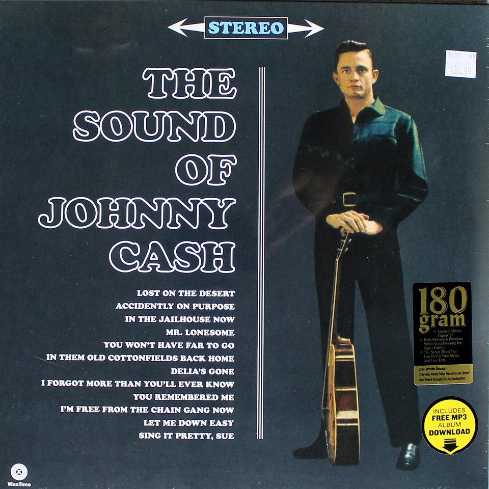 "Johnny Cash Vinyl 12"" (New)"