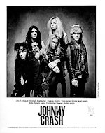 Johnny Crash Promo Print