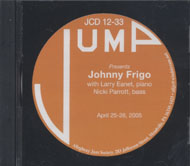 Johnny Frigo CD