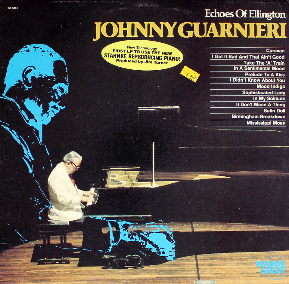 "Johnny Guarnieri Vinyl 12"" (Used)"
