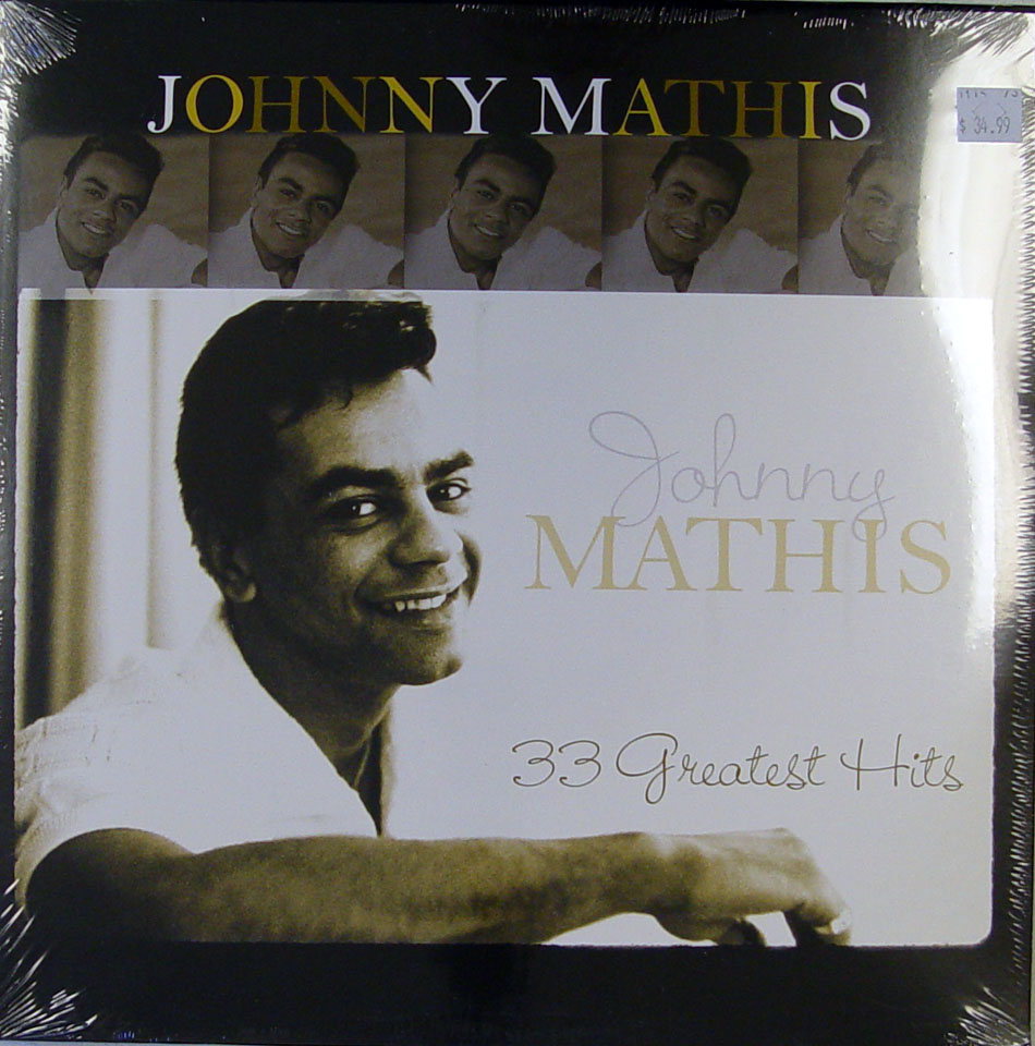"Johnny Mathis Vinyl 12"" (New)"