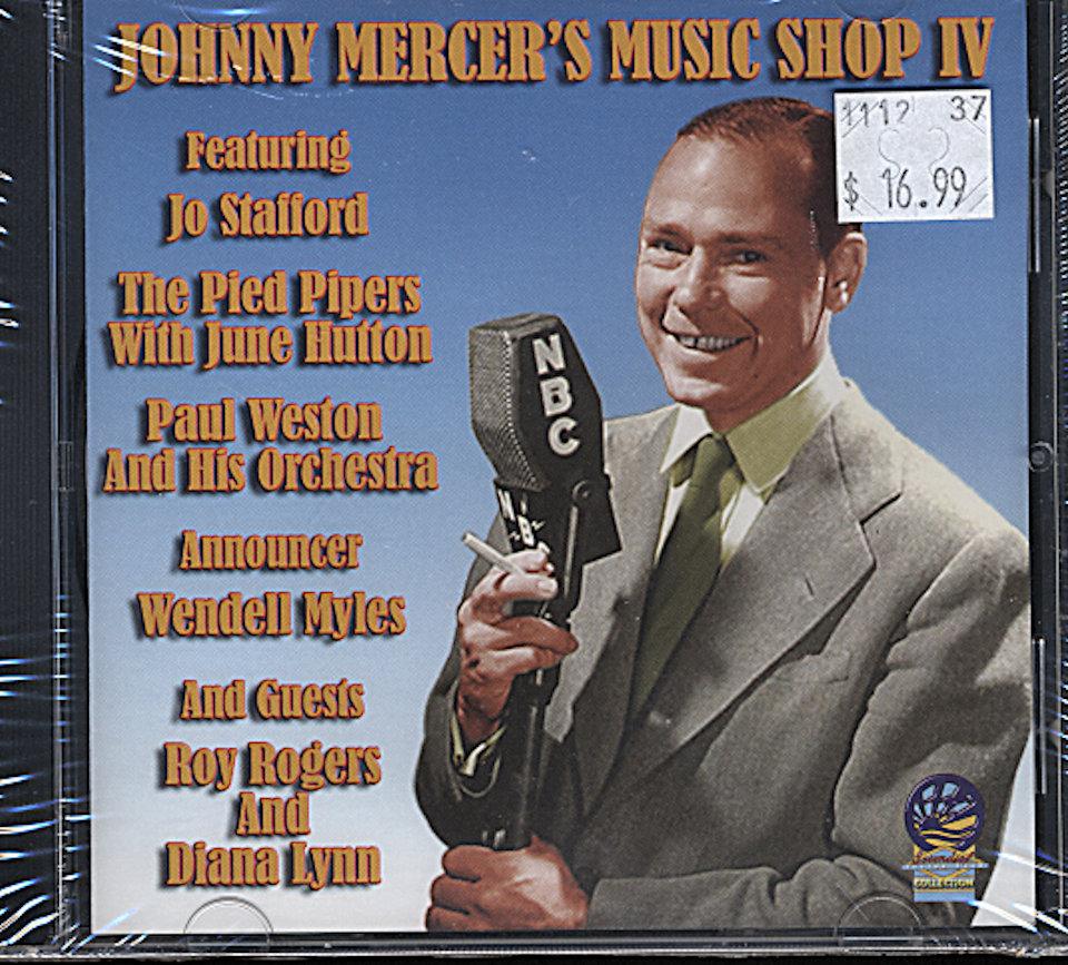 Johnny Mercer CD