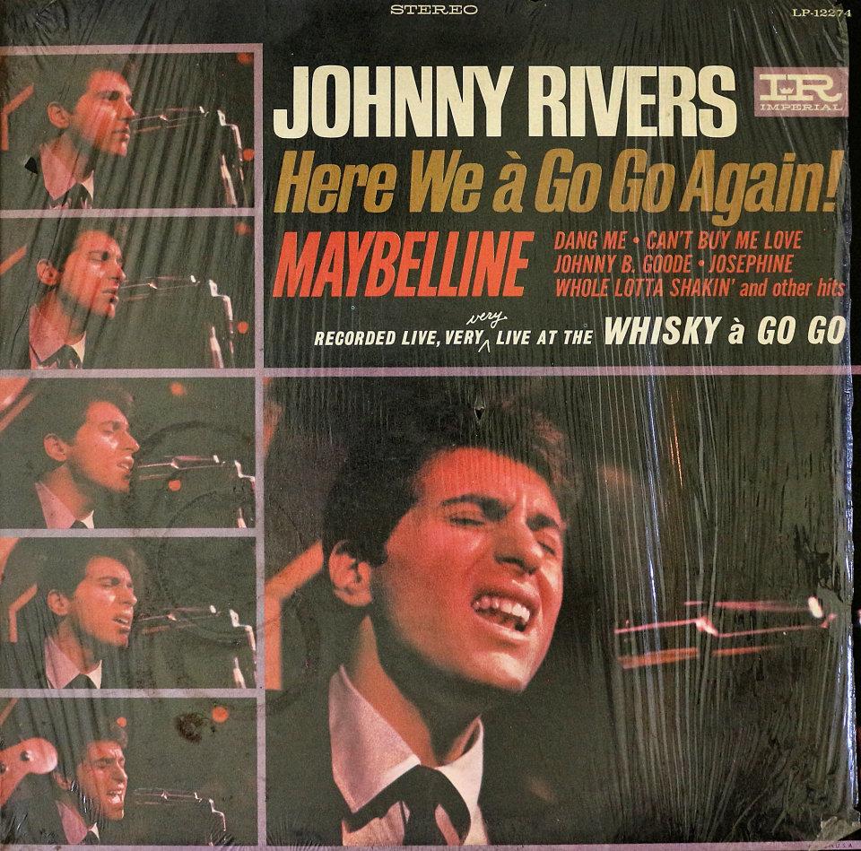 "Johnny Rivers Vinyl 12"" (Used)"