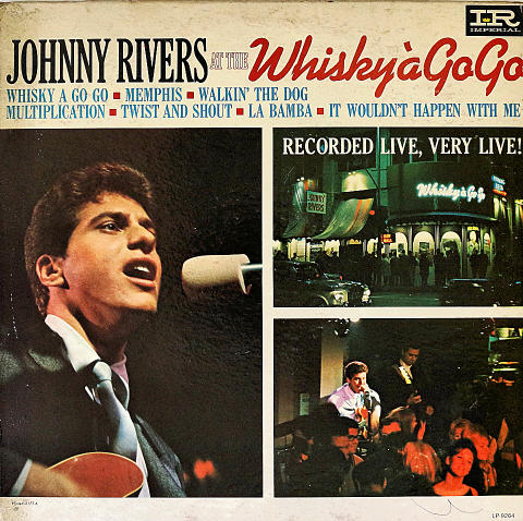 "Johnny Rivers Vinyl 12"" (Used)"