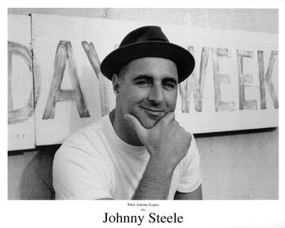 Johnny Steele Promo Print
