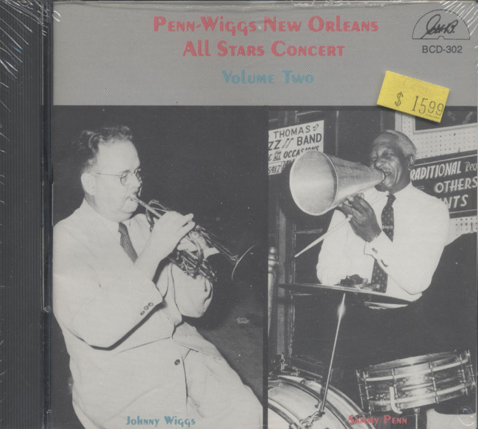 Johnny Wiggs / Sammy Penn CD