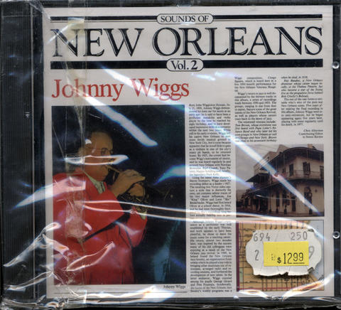 Johnny Wiggs CD