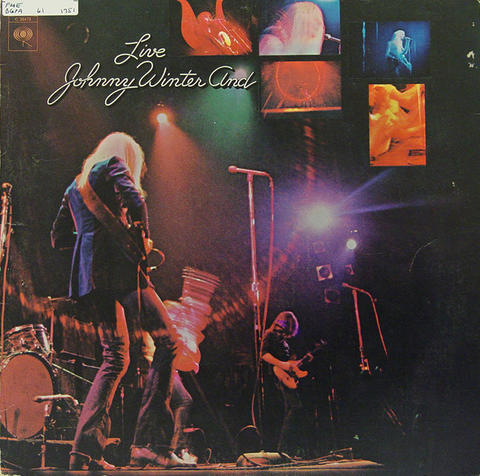 "Johnny Winter And Vinyl 12"" (Used)"