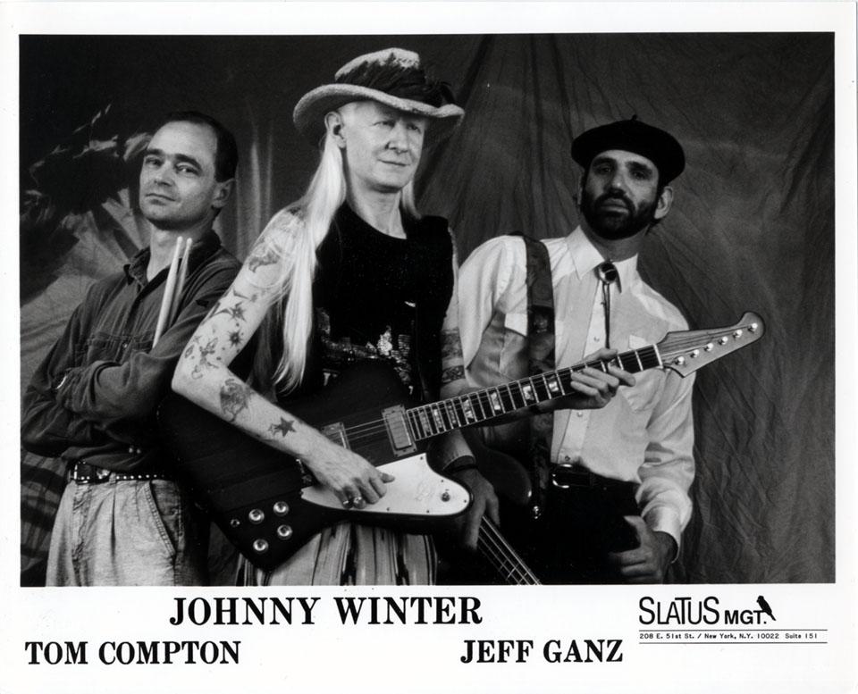 Johnny Winter Promo Print