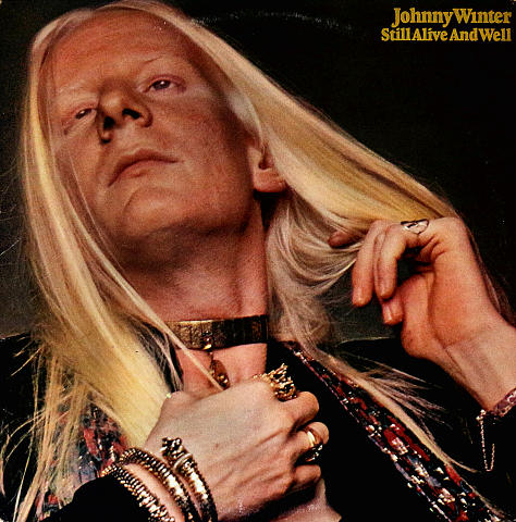 "Johnny Winter Vinyl 12"" (Used)"