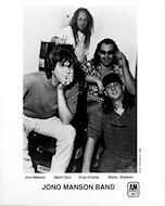 Jono Manson Band Promo Print