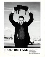 Jools Holland Promo Print