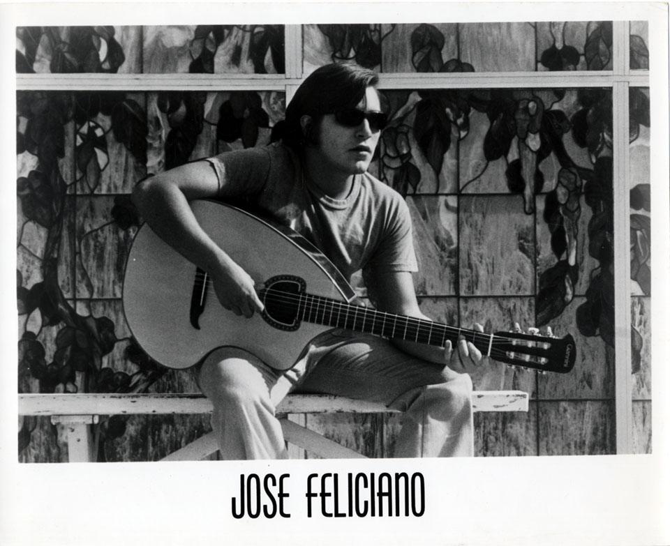Jose Feliciano Promo Print