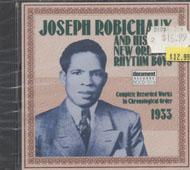 Joseph Robichaux and His New Orleans Rhythm Boys CD