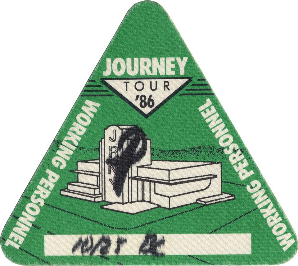 Journey Backstage Pass